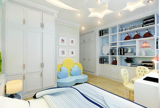 Mẫu thiết kế nội thất nhà phố 5m x 20m mang phong cách tân cổ điển 9