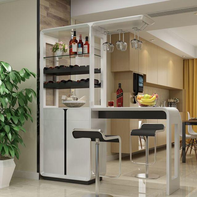 nhà bếp quầy bar mini