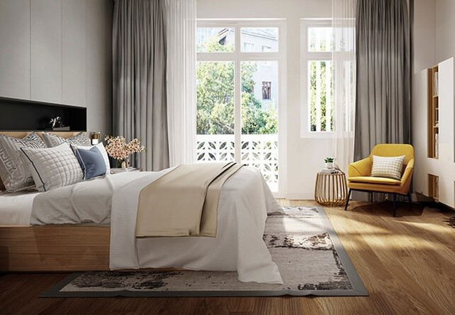 Thiết kế nội thất với phong cách hiện đại 7