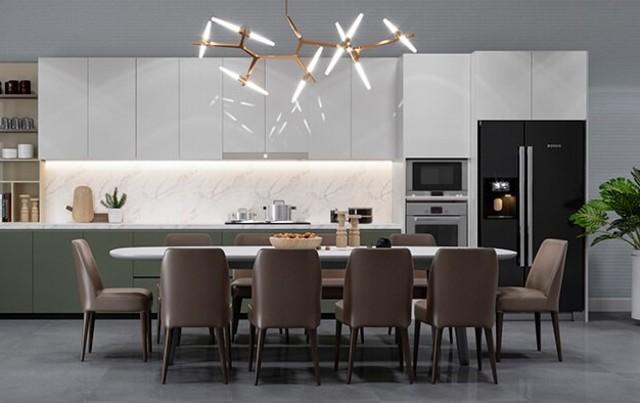 Thiết kế nội thất với phong cách hiện đại 3