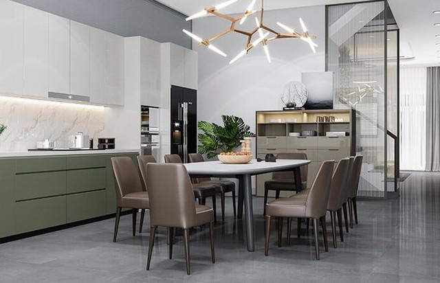 Thiết kế nội thất với phong cách hiện đại 4
