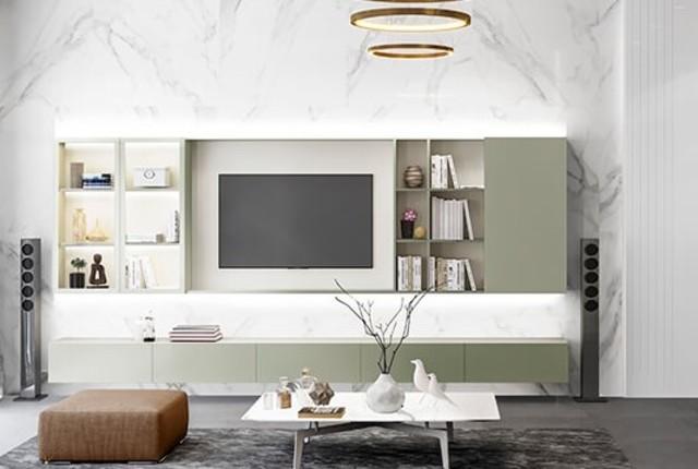Thiết kế nội thất với phong cách hiện đại 1