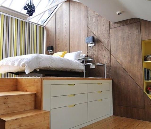 cách bố trí phòng ngủ nhỏ 3