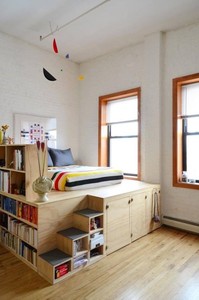 cách bố trí phòng ngủ nhỏ 4