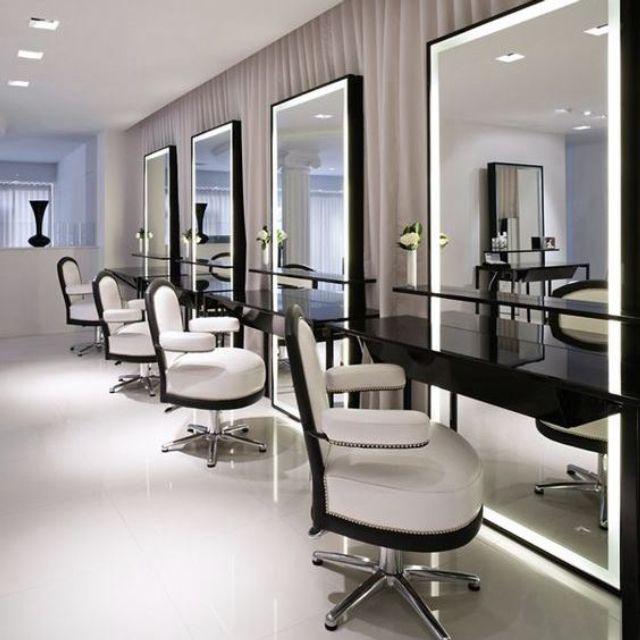 Một số mẫu gương trang trí dùng cho salon