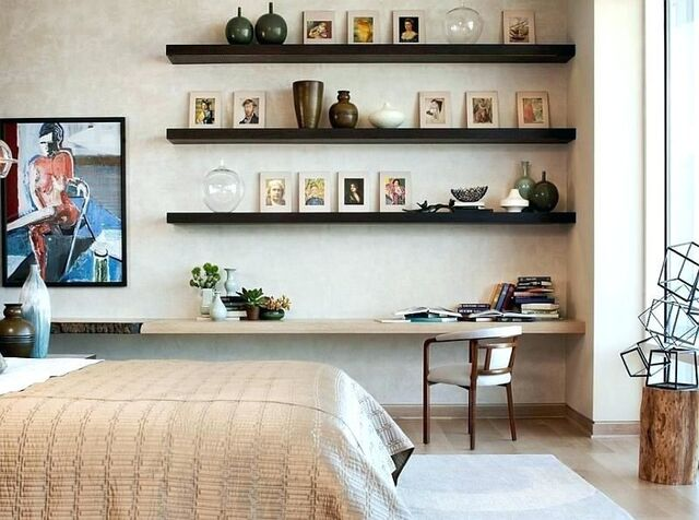 Kệ treo tường phòng ngủ 1