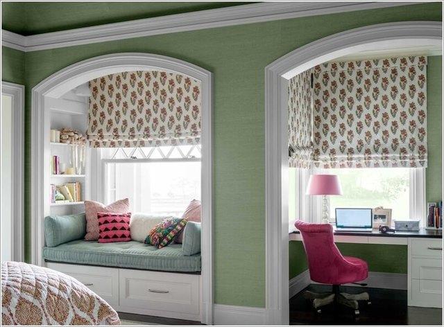mẫu trang trí cửa sổ phòng ngủ 15