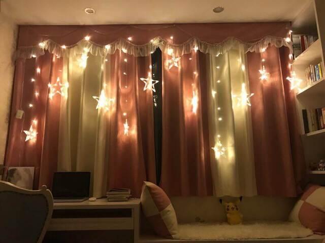 mẫu trang trí cửa sổ phòng ngủ 9