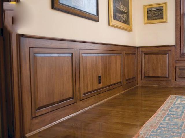 mẫu gỗ ốp tường phòng khách 6
