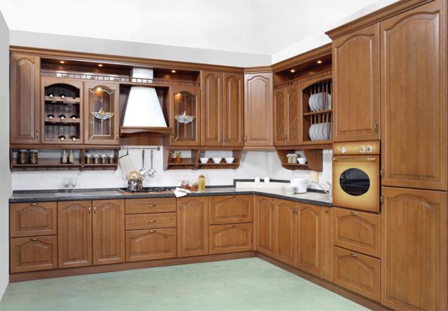 Nội thất gỗ tự nhiên phòng bếp 1