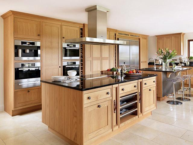 Nội thất gỗ tự nhiên phòng bếp 2