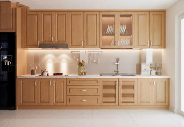 Nội thất gỗ tự nhiên phòng bếp 5