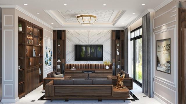 Nội thất gỗ tự nhiên phòng khách 5