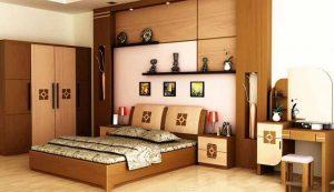 nội thất gỗ tự nhiên phòng ngủ 1