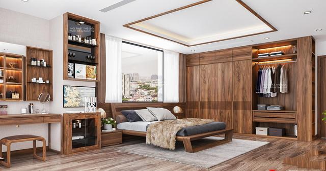 nội thất gỗ tự nhiên phòng ngủ 2