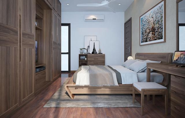 nội thất gỗ tự nhiên phòng ngủ 4
