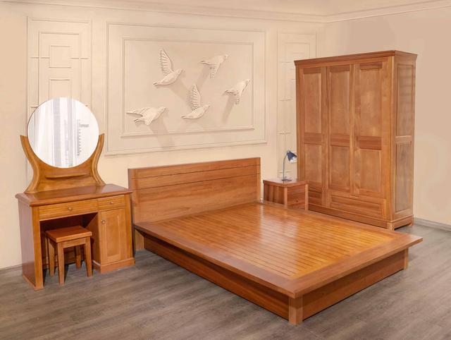 nội thất gỗ tự nhiên phòng ngủ 5