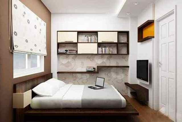 thiết kê phòng ngủ nhỏ 8m2