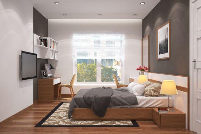 bố trí phòng ngủ cho phù hợp phong thủy