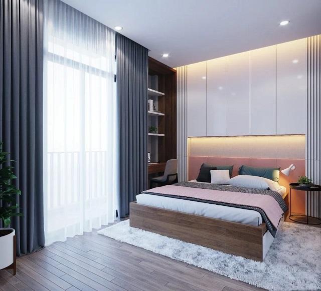 Diện tích phòng ngủ nên là bao nhiêu?