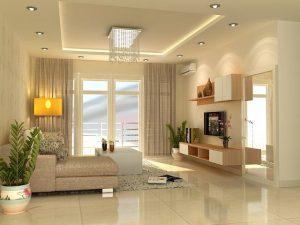 mẫu nội thất đỗ sồi phòng khách 3
