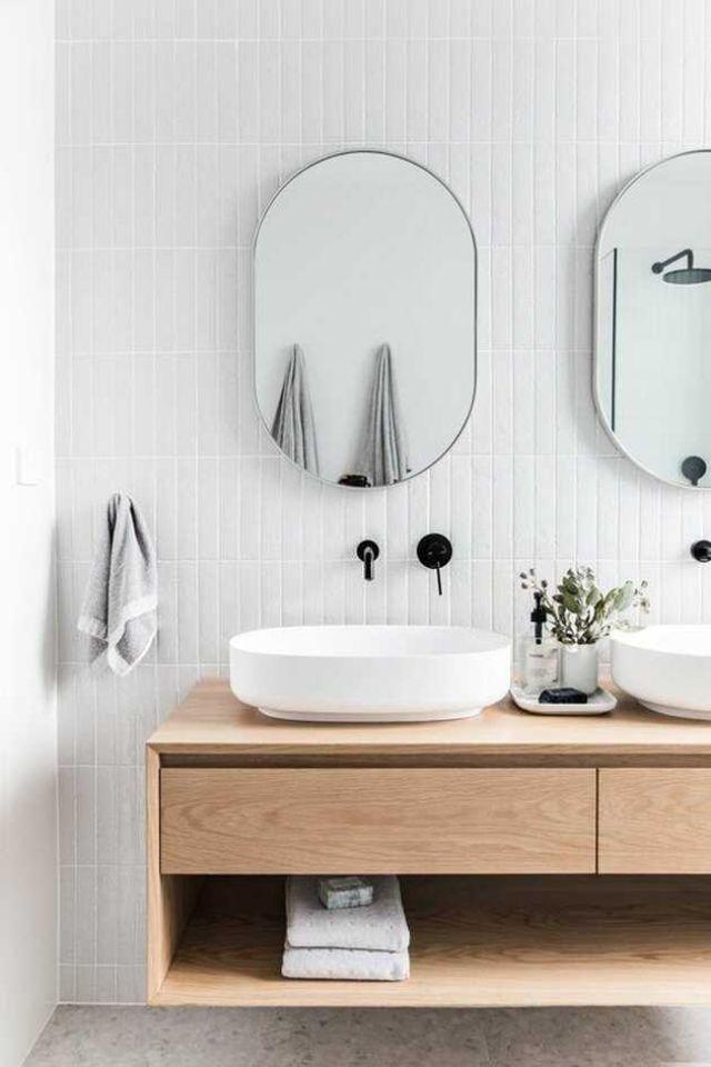 mẫu nội thất gỗ sồi phòng tắm 1