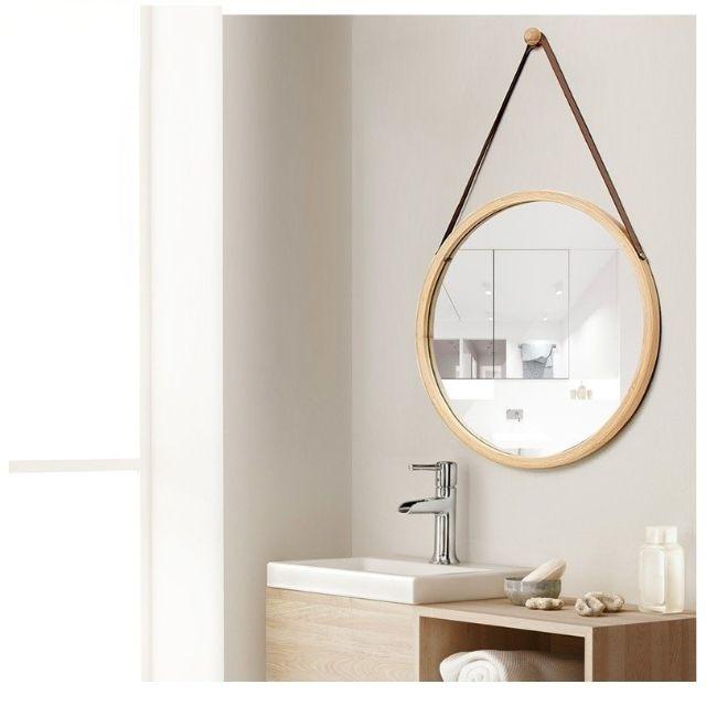 mẫu nội thất gỗ sồi phòng tắm 3