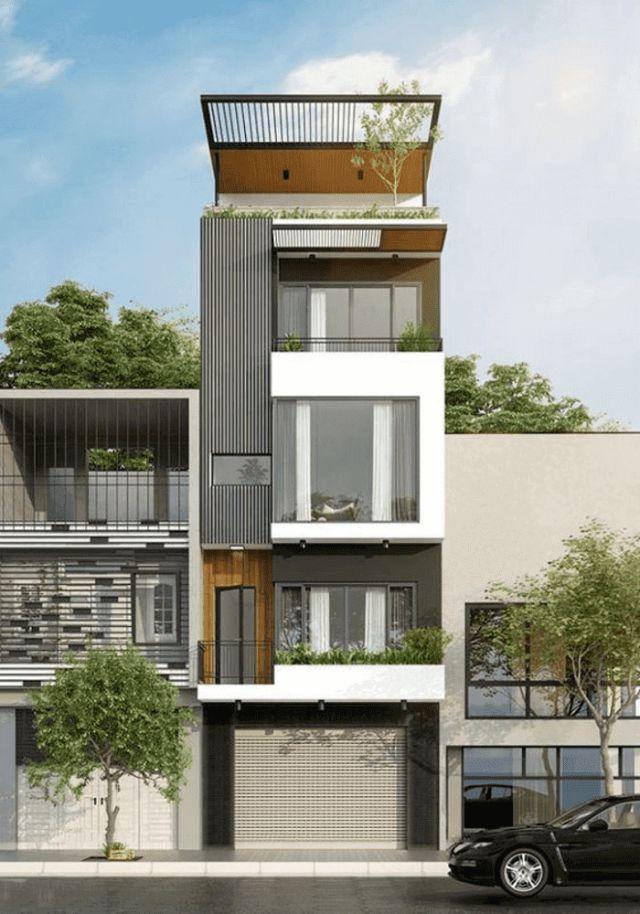 Xây nhà 2 tầng giá 500 triệu chứa phòng làm việc riêng