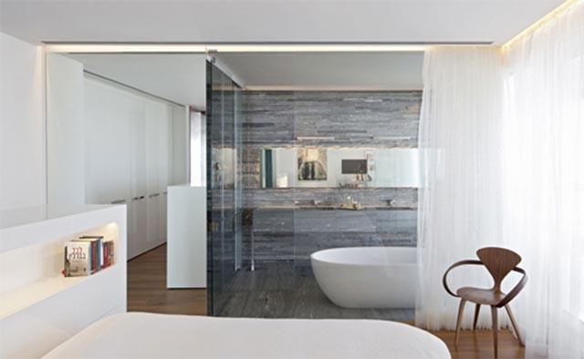 phòng ngủ tích hợp nhà vệ sinh 13