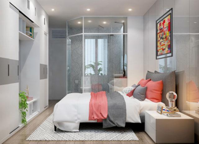 phòng ngủ tích hợp nhà vệ sinh 4