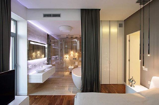 phòng ngủ tích hợp nhà vệ sinh 6