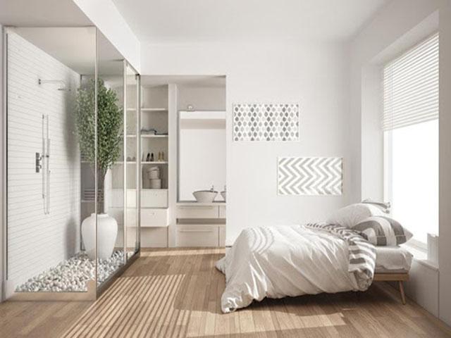 phòng ngủ tích hợp nhà vệ sinh 7