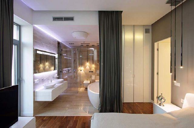 một số phòng ngủ có nhà vệ sinh cực đẹp, đạt chuẩn