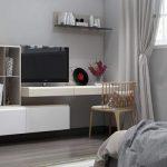 15 Mẫu kệ tivi phòng ngủ ĐẸP, ĐƠN GIẢN, HIỆN ĐẠI