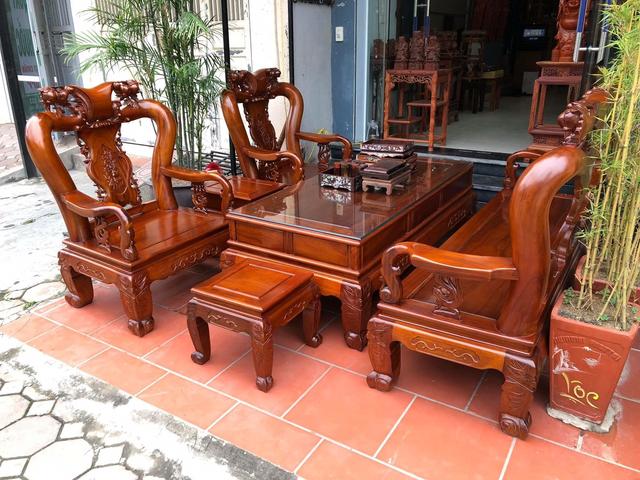 mẫu bàn ghế gỗ phòng khách 3