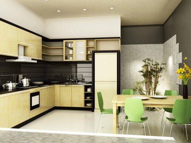 màu sắc phòng bếp cho tuổi Ất Mão
