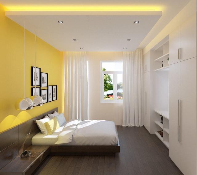 phòng ngủ nhà ống 3