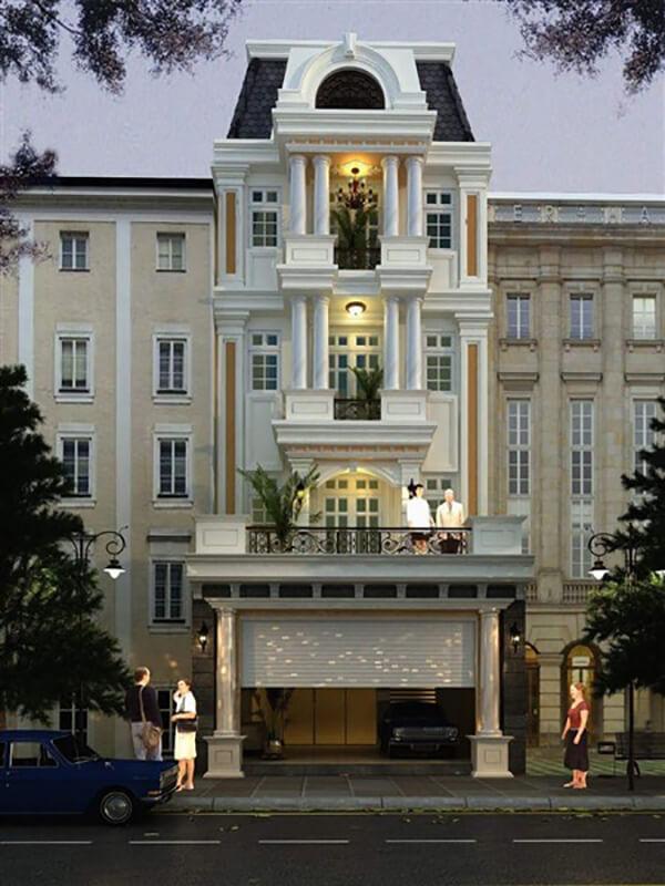 Phong cách nhà phố Pháp
