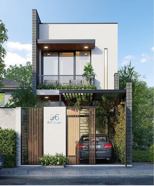Phong cách nhà phố hiện đại