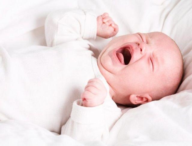 chất lương giấc ngủ của bé bị ảnh hưởng