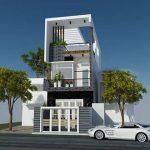 7 Mẫu thiết kế nhà 3 tầng mặt tiền 6m đẹp, hiện đại, nhìn là mê