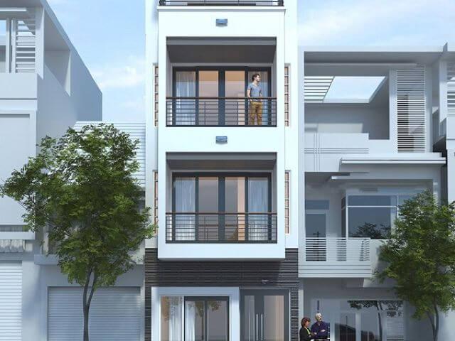 Mẫu thiết kế nhà phố 3 tầng mặt tiền 5m - S=5x14m