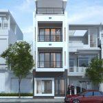Tổng hợp các mẫu thiết kế nhà 4 tầng mặt tiền 8m tiết kiệm chi phí