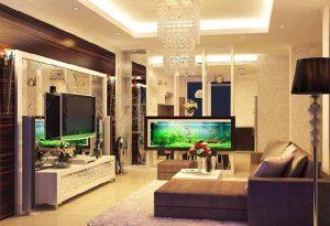 bể cá trang trí nội thất