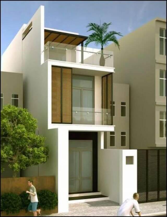 Tổng diện tích cần có để thi công nhà 3 tầng 30m2