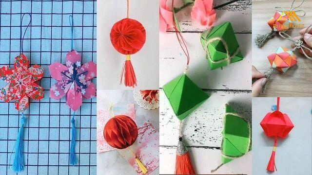 Origami trang trí nhà ở