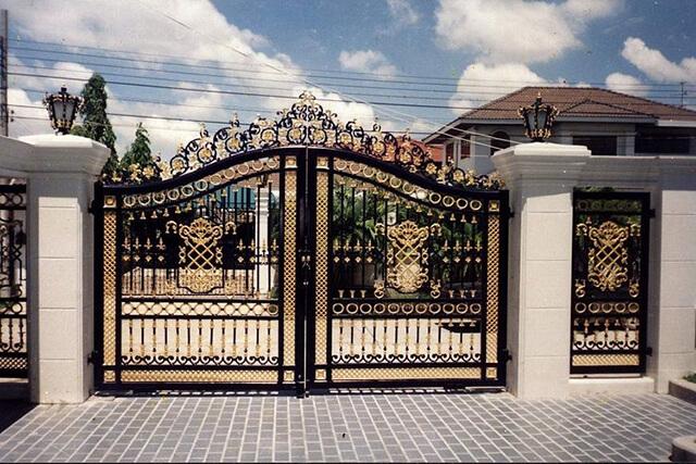 cổng nhà đẹp theo phong thủy 2