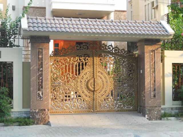 cổng nhà đẹp theo phong thủy 3