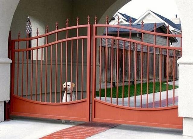 cổng nhà đẹp theo phong thủy 6