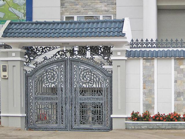 cổng nhà đẹp theo phong thủy 7